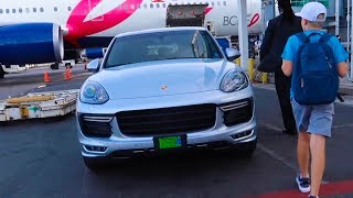 Download What airline gives you a PORSCHE? Video