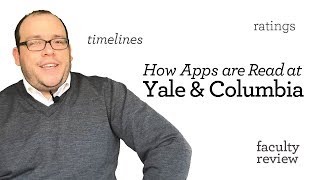 Download How Applications Are Read: Yale vs. Columbia Law Schools Video