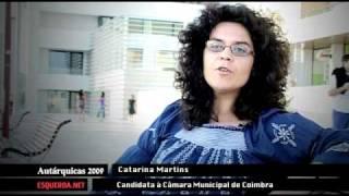 Download Coimbra | Catarina Martins | Autárquicas 2009 | Bloco de Esquerda Video