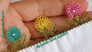 Download 300.model flower muhteşem bir incili iğne oyası modeli anlatımlı yapılışı Video