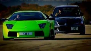 Download Evo vs Lamborghini Part 1 - Top Gear - BBC Video