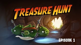 Download Treasure Hunt | Angry Birds Toons - Ep. 1, S 2 Video