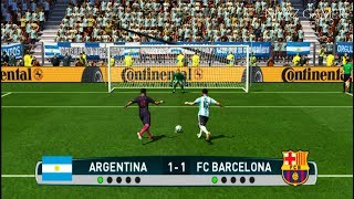 Download ARGENTINA vs BARCELONA | Penalty Shootout | PES 2017 Gameplay Video