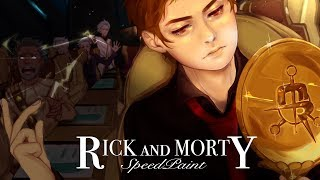 Download 「Evil Morty」Rick and Morty - SPEEDPAINT Video