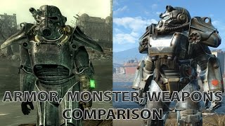 Download Fallout 3 vs Fallout 4 Comparison (Armor, Monsters, Weapons!) Video