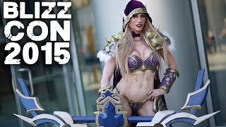 Download BLIZZCON 2015 - Epic COSPLAY - Diablo, Warcraft, WoW, Starcraft, Overwatch, Heroes of the Storm Video