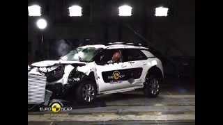 Download Euro NCAP Crash Test of Citroen C4 Cactus 2014 Video