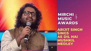 Download Ae Dil Hai Mushkil medley with Arijit Singh & Jonita Gandhi at Mirchi Music Awards | #RSMMA Video
