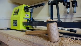 Download Making A Mallet On My New Ryobi Lathe Video