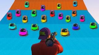 Download SURVIVE THE SUPER CAR AVALANCHE! (GTA 5 Funny Moments) Video