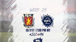 Download USL LIVE - Real Monarchs SLC vs Vancouver Whitecaps FC 2 10/7/17 Video