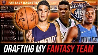 Download Drafting My NBA Fantasy Basketball Team! 2018 NBA Season Is FINALLY HERE! Video