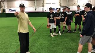 Download Mic'd Up During Infield and Catching Practice Video