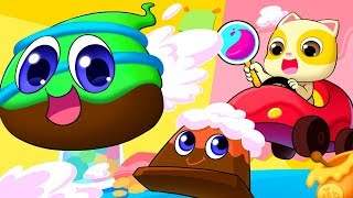 Download Chocolate And His Friends | Food Song | Colors Song | Nursery Rhymes | Kids Songs | BabyBus Video