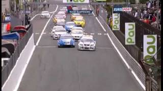 Download Safety car crash in Pau (WTCC 2009) Video