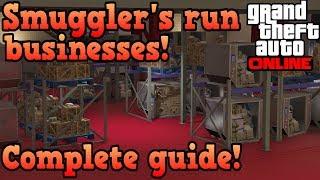 Download Smuggler's run business complete guide! - GTA Online Video