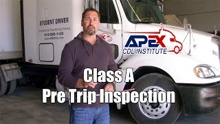 Download How to perform a Class A CDL Pre-Trip inspection. Video