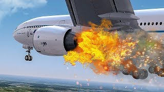 Download Engine On Fire   Emergency After Takeoff   New Flight Simulator 2018 Video