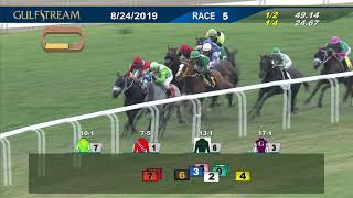 Download Gulfstream Park August 24, 2019 Race 5 Video