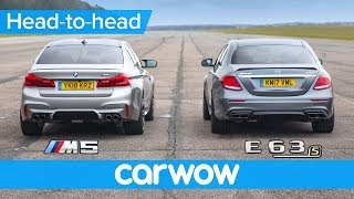 Download New BMW M5 vs Mercedes-AMG E63 S - DRAG RACE, ROLLING RACE & BRAKE TEST Video