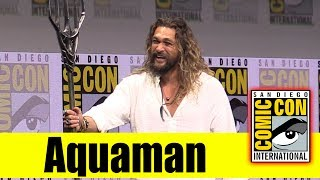 Download AQUAMAN | Comic Con 2017 Full Panel (Jason Momoa) Video
