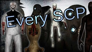Download Every SCP in SCP: Containment Breach v1.3.7 Video
