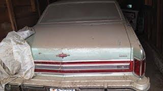 Download Barn Find - 1978 Lincoln Continental Town Car, Garage Find, Survivor Video