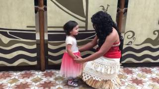 Download Meeting Moana at Disneyland Video