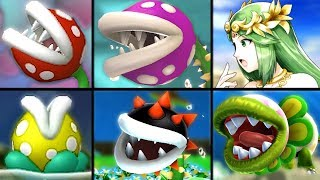 Download All Piranha Plant Species Viridi Mentions in Palutena Guidance in Smash Bros Ultimate (References) Video
