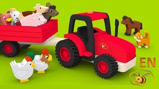Download Farm animals video for children toddlers babies. Learn farm animals and their sounds in English. Video