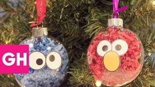 Download Easy DIY Christmas Ornaments to Make With the Kids | GH Video