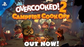 Download Overcooked 2: Campfire Cook Off DLC Out Now!   PS4 Video