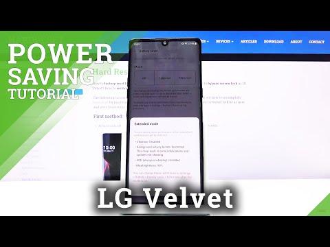 How to Enable Power Saving Mode in LG Velvet – Save Battery