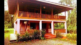 Download บ้านโครงสร้างครึ่งปูนครึ่งไม้โปร่ง ๆ ชั้นบนและชั้นล่างออกแบบให้มีพื้นที่เทอเรสโปร่งเย็น Video