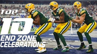 Download Top 10 End Zone Celebrations of 2017 | NFL Films Video