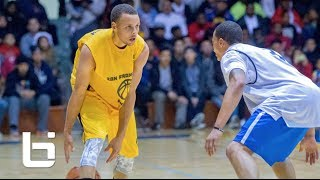 Download Stephen Curry SF Pro Am RAW Footage Highlights Of 43 Point Performance Video