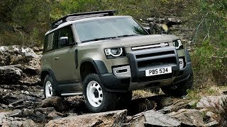 Download New Land Rover Defender first look: a nod to the past but does it live up to the name? Video