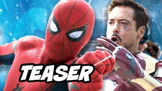 Download Spider Man Homecoming Teaser Trailer Breakdown Video