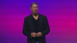 Download Larry Ellison Introduces Oracle Autonomous Database Cloud Video