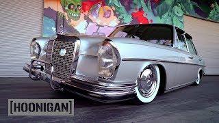 Download [HOONIGAN] DT 217: Bagged RHD 1972 Mercedes 280 Video