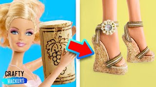 Download 10 AWESOME DIY HACKS TO MAKE BARBIE ACCESSORIES Video