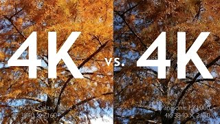 Download DSLM 4K VS. Smartphone 4K: Side By Side Comparisons Video