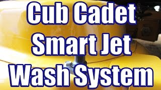 Download Using the Cub Cadet Smart Jet Wash System (LTX 1050 Deck Washing System in Action) Video