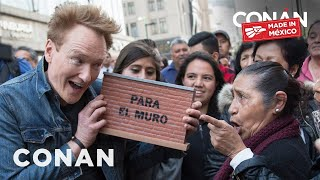 Download #ConanMexico Preview: Conan's Border Wall Pledge Drive Video