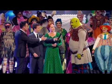 The Cast of Shrek The Musical (feat. Amanda Holden) - Guest Appearance - Britain's Got Talent 2011