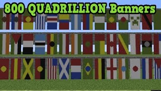 Minecraft Xbox 360 / PS3 - Banner Tutorial (TU43 Banner Designs