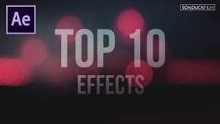Download Top 10 Best Effects in After Effects Video