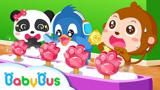 Download Ice Cream & Smoothies - Kids Make Ice Cream With Panda | Animation For Babies | BabyBus Video