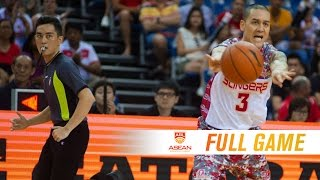 Download Singapore Slingers vs. Alab Pilipinas | FULL GAME | 2016-2017 ASEAN Basketball League Video