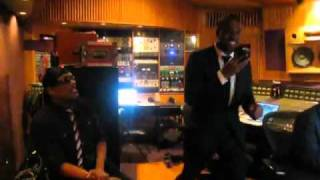 Download Kanye West And Charlie Wilson In The Studio Making History Video